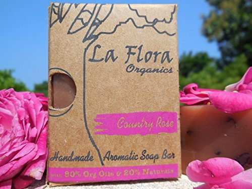 Country Rose aromatic handmade soap bar-100 gms (Country Rose) -