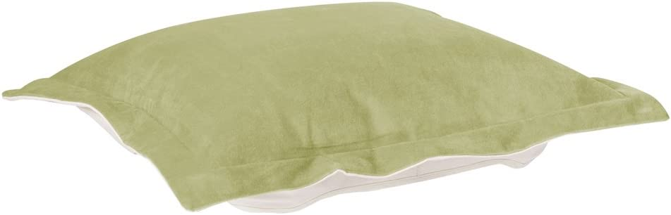 Howard Elliott Puff Ottoman Cushion With Cover, Bella Moss