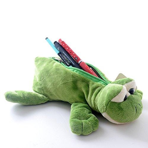Frog Cartoon Animal (Gloveleya Cartoon Animal Pencil Pouch Case School Pouch Bag 11'' (frog))