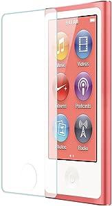 Tranesca Tempered Glass Screen Protector for iPod Nano 7th Generation