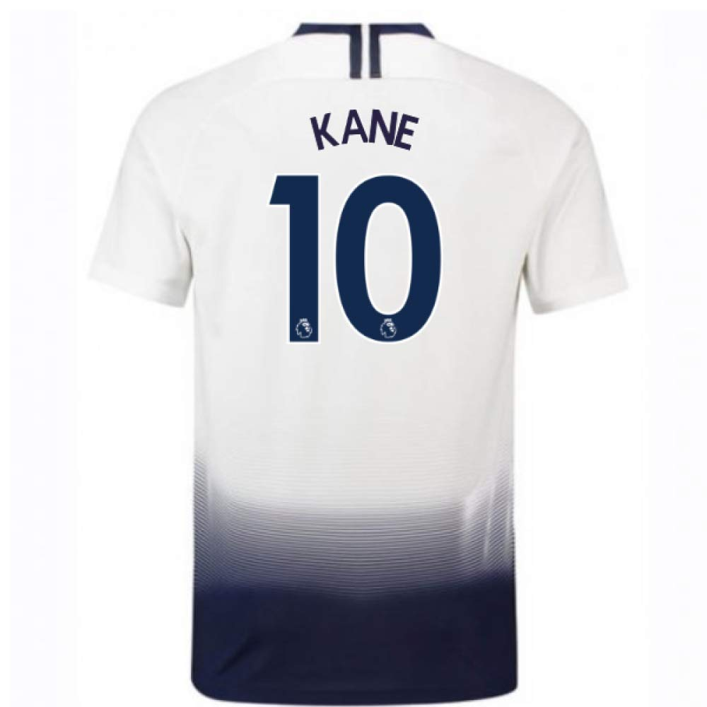 2018-2019 Tottenham Vapor Match Home Nike Football Soccer T-Shirt Trikot (Harry Kane 10)