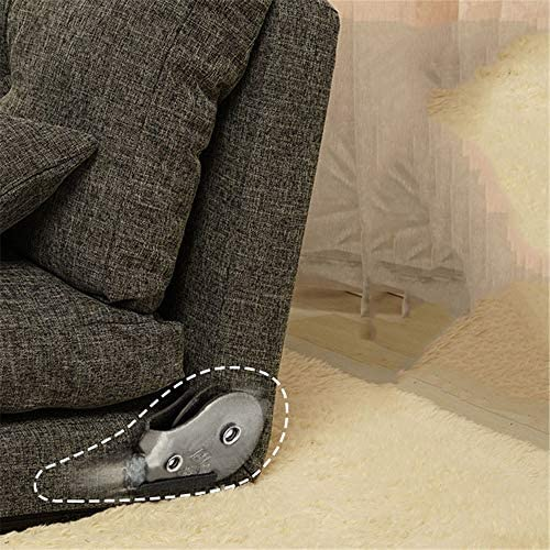 ソファコンパクト ソファー 低反発座椅子 フレームゲストソファホームラグジュアリー布団ベッドベッド折りたたみマットレスシングル (色 : ベージュ, サイズ : 210*100*28CM)
