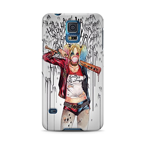 Harley Quinn for Samsung Galaxy S5 Hard Case Cover (harl6) (Poison Ivy Galaxy S5 Case)