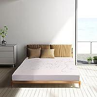 Polar Sleep 6 Inch memory foam Mattress ,Air Gel Memory Foam ,Sleep Comfortable, 10 year warranty, Full Size,White