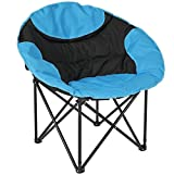 Best Bed Toppers for Bad Backs Outdoor Camping Fishing Portable Folding Lightweight Sport Chair With Shoulder Strap Carrying Bag/ Blue #595