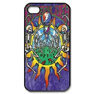 Grateful Dead, Custom Iphone 5s 5 Case Cover TPU Rubber for iPhone 5s hjbrhga1544
