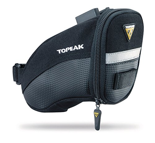 Topeak Aero Wedge Pack, w/Fixer F25, Small