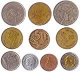 Different Coins from All Over The World. Real