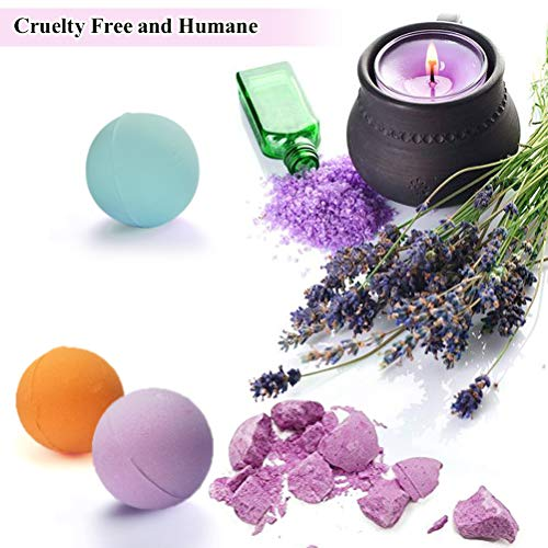 Aofmee Bath Bombs Lush Fizzies Spa Kit Perfect For