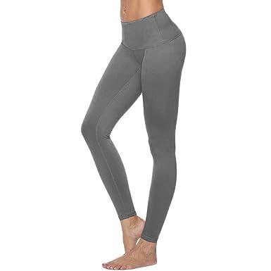 Cintura Alta de Yoga Pantalones, YpingLonk Push up Mujer ...