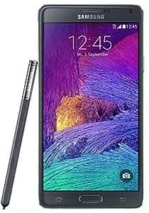 "Samsung Galaxy Note 4 - Smartphone de 5.7"" (2560 x 1440 pixeles, Super AMOLED, 2,7 GHz, 3072 MB), negro"