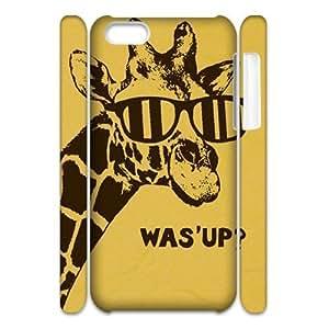 linJUN FENGGiraffe Custom 3D Cover Case for Iphone 5C,diy phone case ygtg561751