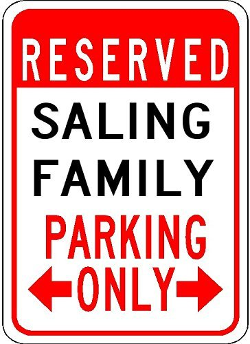 Metal Signs Saling Family Parking - Customized Last for sale  Delivered anywhere in USA