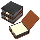 MyLifeUNIT Business Sticky Notes Holder with 3 x 3 inch Sticky Note, 3 Pack (Black)