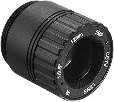 uxcell 3.6mm 5MP F2.0 FPV Camera Lens Wide Angle for CCD Camera