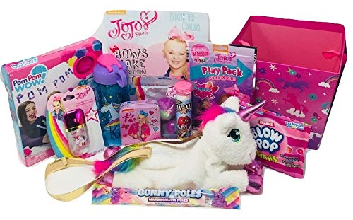 Amazon.com: JoJo - Cesta de regalo con puzzle JoJo, libro de ...