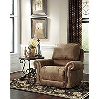 Ashley Furniture Signature Design - Larkinhurst Rocker Recliner - Manual Reclining Chair - Traditional Style - Earth