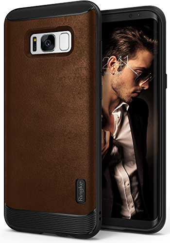 Galaxy S8 Plus Case, Ringke [Flex S Series] Elite Coated Textured Modern...