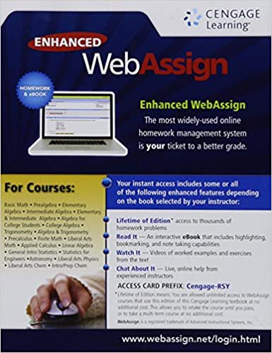 Amazon enhanced webassign single term loe printed access card enhanced webassign single term loe printed access card for math sciences 1st edition fandeluxe Images