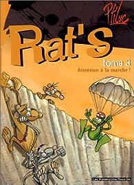 Rat's, tome 3 : Attention à la marche ! par  Ptiluc