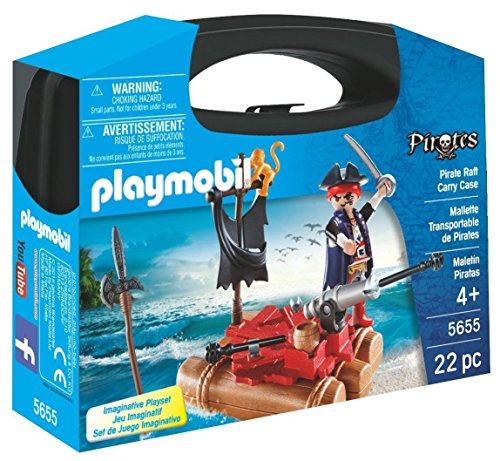 Playmobil Pirate - PLAYMOBIL Pirate Raft Carry Case