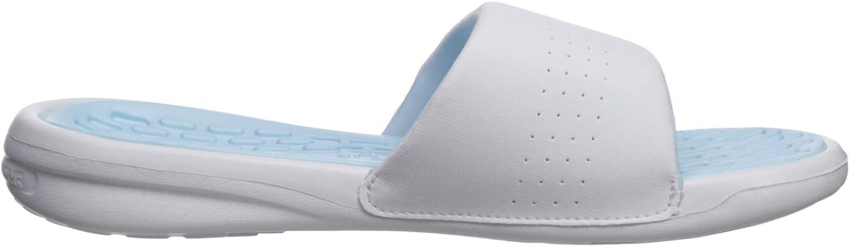 Under Armour UA W Debut Fix SL, Chaussures de Plage & Piscine Femme Bleu Coded Blue White Boho Blue 302 302