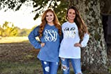 Monogram Long Sleeve Shirt for Women