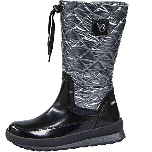 Caprice Women's Boots 9-26408-29-053 Black/Silver Schwarz PPpUA