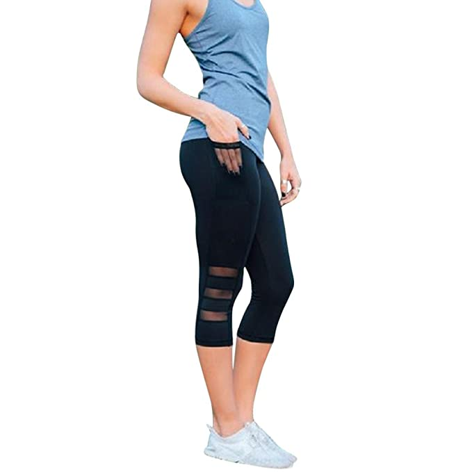a7e227625d Hot New! Women Skinny Leggings,High Waist Tummy Control Slimming Booty Yoga  Pants Patchwork