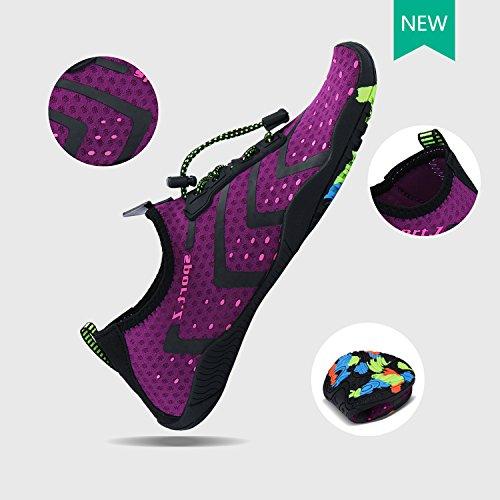 Shoes Barefoot Skin PENGCHENG A1 Swim Socks Men Quick Women Aqua Water Beach Dry Sports purple gxxqHE0f