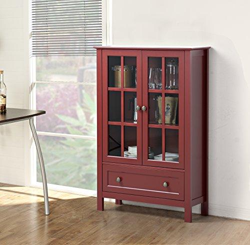 2 door glass cabinet - 6