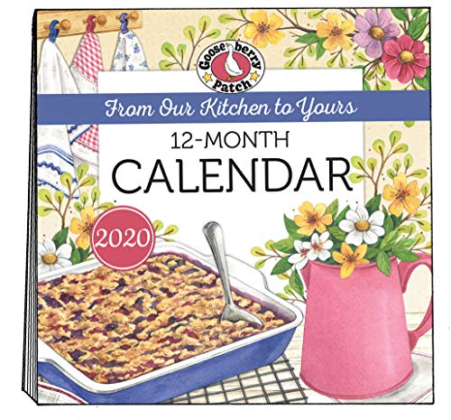 2020 Gooseberry Patch Wall Calendar (Everyday Cookbook Collection) by Gooseberry Patch