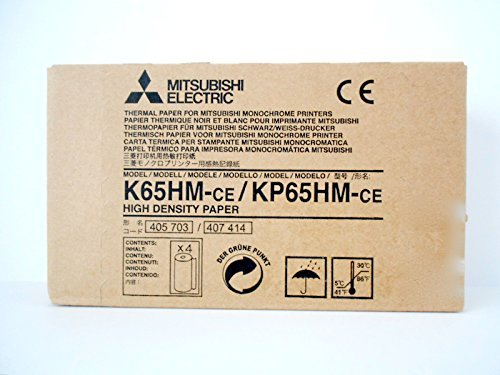 PT# KP65HM PT# # KP65HM- Paper Ultrasound Mitsubishi 20Mx110mm Thermal 4/Bx b...