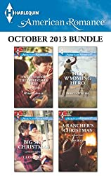 Harlequin American Romance October 2013 Bundle: Twins Under the Christmas Tree\Big Sky Christmas\Her Wyoming Hero\A Rancher's Christmas
