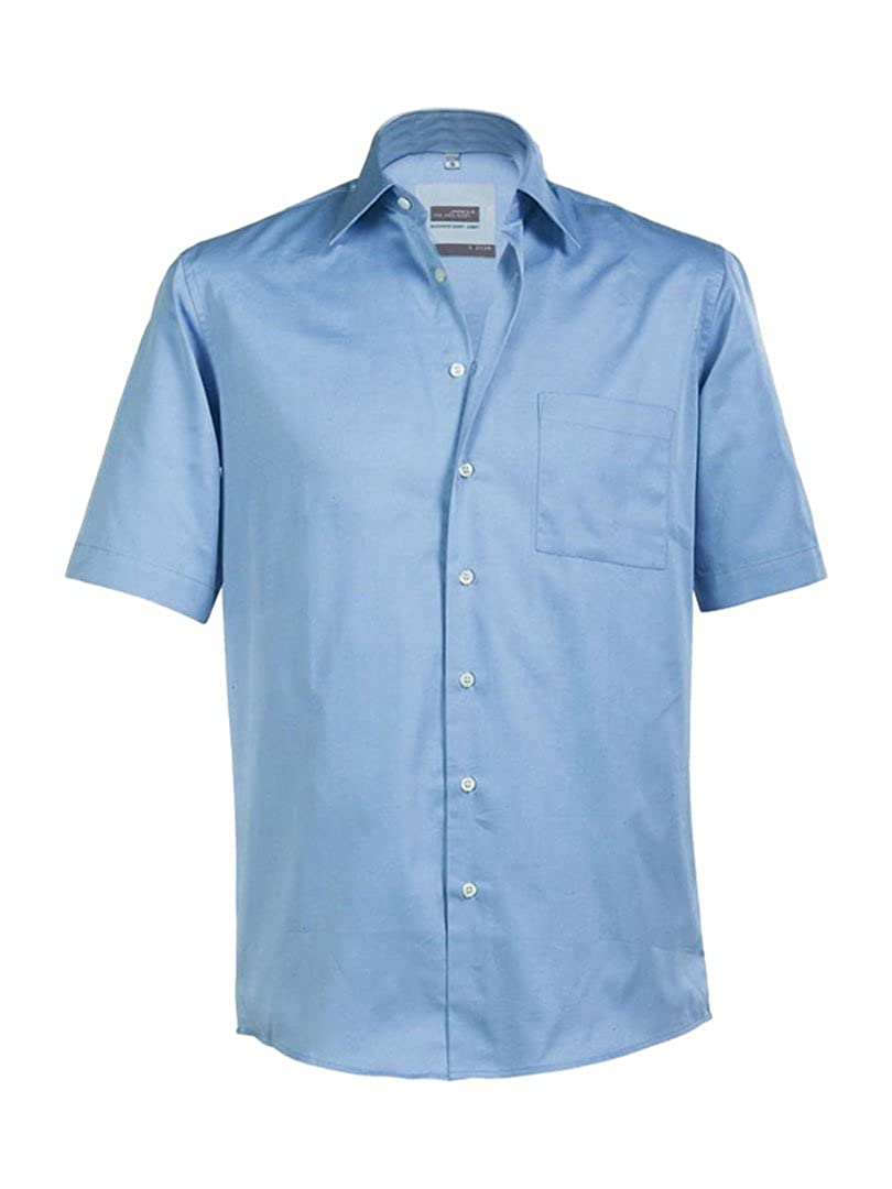 James /& Nicholson JN062 Mens Short Sleeve Business Shirt
