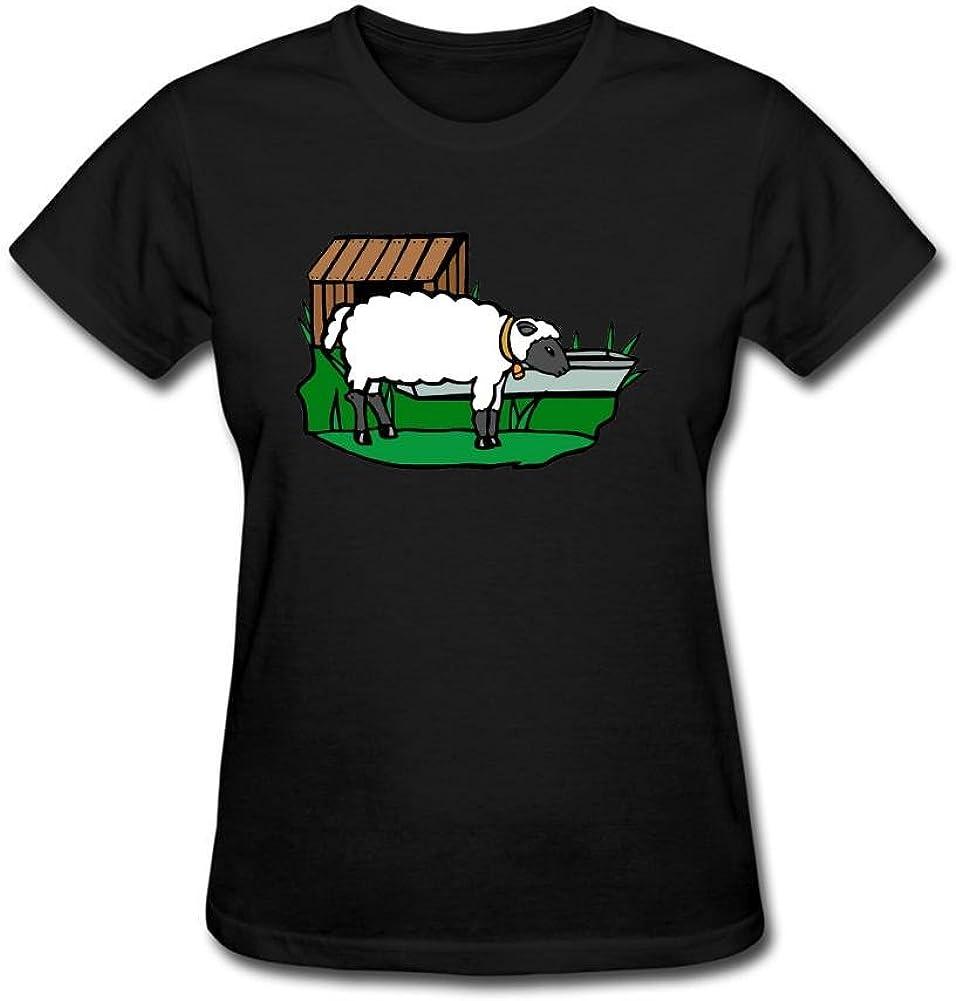 sungboys gratuito de las mujeres Clip Art ovejas cara camiseta de manga corta T