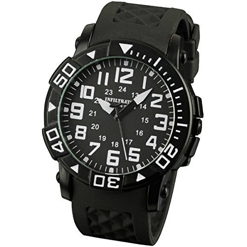 infantry-mens-casual-whtie-sports-analog-quartz-wrist-watch-with-black-rubber-strap-stainless-steel-