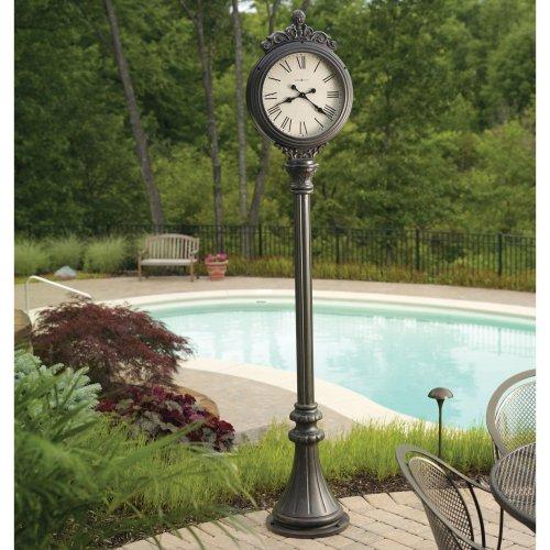 Howard Miller City Centre Indoor/Outdoor Floor Clock: Amazon.co.uk ...