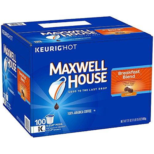 MAXWELL HOUSE Cafe Collection, Breakfast Blend (100 Count) iiiIII ()