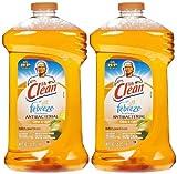 Mr. Clean with Febreze Freshness Antibacterial Liquid Cleaner - 40 oz - Citrus & Light - 2 pk