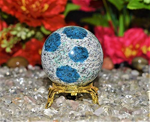 Excel International Jasper Crystal Sphere Ball for Reiki Healing Gemstone Magic- 160gr/5cm