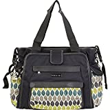 Kalencom Nola Tote Diaper Bag (Navy Feathers)