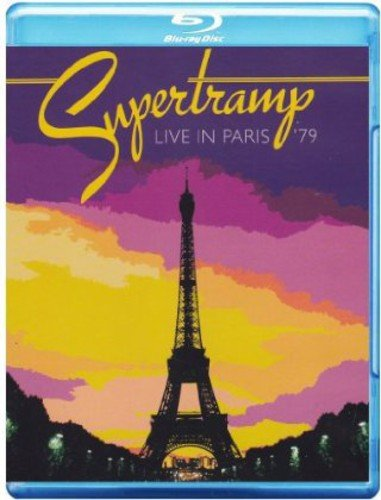 Blu-ray : Supertramp - Live in Paris '79 (Blu-ray)