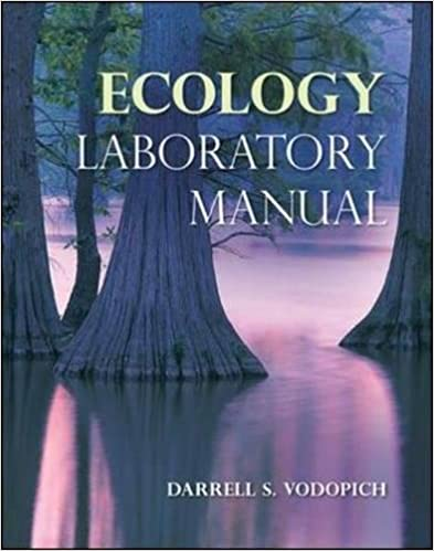 Amazon ecology laboratory manual 9780073383187 darrell s ecology laboratory manual 1st edition fandeluxe Images
