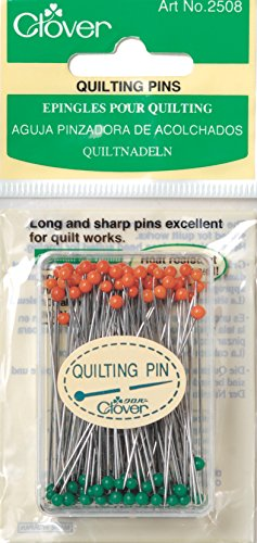 Clover Quilting Pins, 100 Per Pack