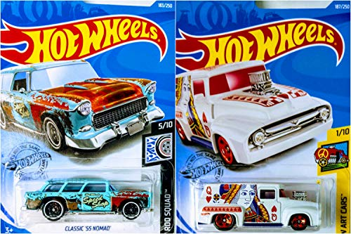Hot Wheels 2019 56 Ford F-100 187/250 and Classic 55 for sale  Delivered anywhere in USA