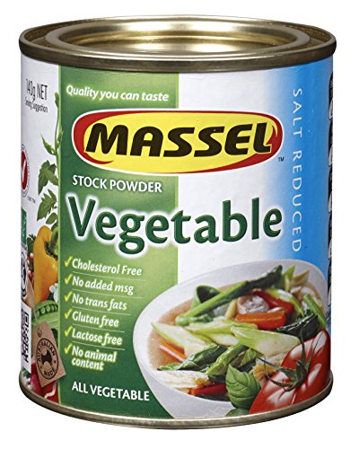 Make Slow Cooker Juniper Venison Stew with Massel Gluten-Free, Salt Reduced All Purpose Bouillon & Seasoning Granules, Vegetable, 4.2-Ounce (Pack of 6)