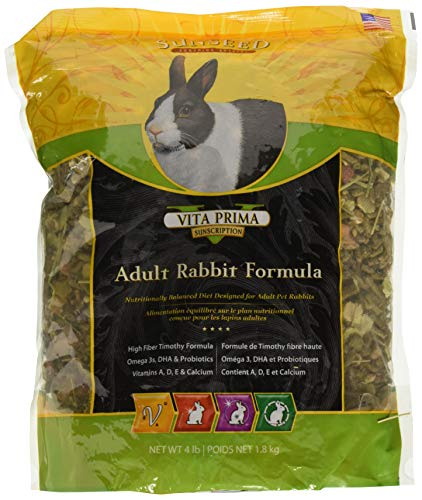 (2 Pack) Sun Seed Sunscription Vita Prima Adult Rabbit Formula - 4lb ()