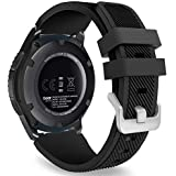 Gear S3 Bands,Meifox Soft Silicone Replacement...