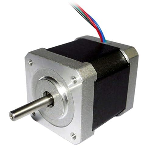 Soulitem 42mm 1.8 Grados NEMA17 2 Fases Motor de Pasos de 4 Hilos ...